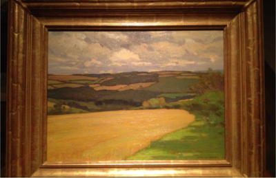 Fine Art Archival Framing : William Wendt old frame : VANDEUREN