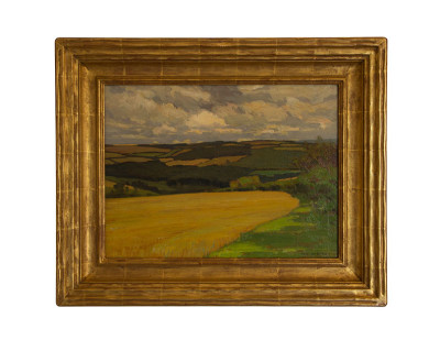 Fine Art Archival Framing : William Wendt new frame : VANDEUREN