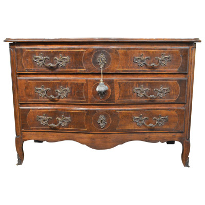 Antique French Dresser in Walnut - VANDEUREN