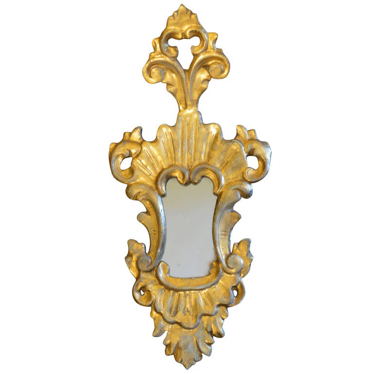 Gilded Antique Italian Mirror | VANDEUREN, Los Angeles CA