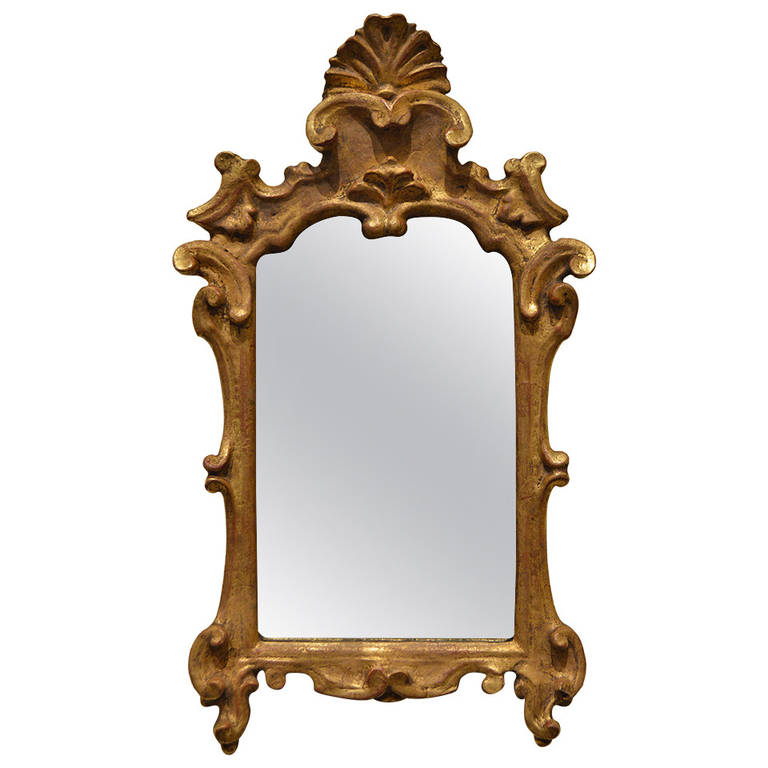18th Century French Antique Gilded Mirror | VANDEUREN, Los Angeles CA