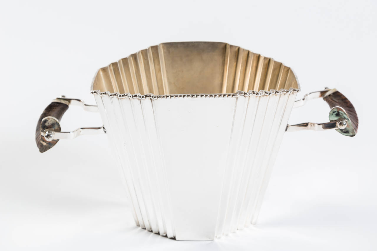 Art Deco Champagne Bucket | VANDEUREN, Los Angeles CA