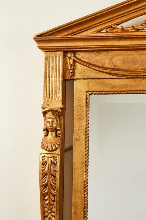 Hand-Carved Italian Mirror | Vandeuren French Antiques & Art Frames