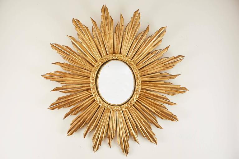 Sun Convex Mirrors | Vandeuren French Antiques & Art Frames