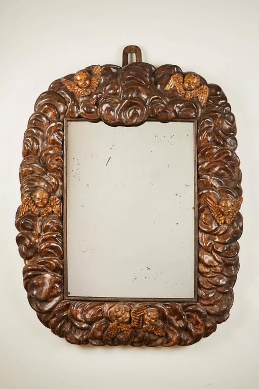 17th Century Italian Cloud Mirror | Vandeuren French Antiques & Fine Art Frames